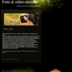 Beispiel-Seite für einen Fotograf