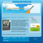 Beispiel-Seite für ein Reinigungsunternehmen