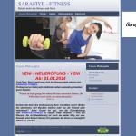 Beispiel-Seite für ein Fitnesscenter