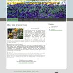 Beispiel-Seite für eine Gärtnerei