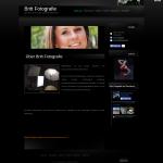 Beispiel-Seite für eine Fotografin