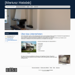 Beispiel-Seite für ein Bauunternehmen