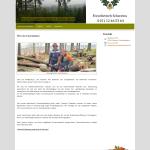 Beispiel-Seite für einen Forstbetrieb