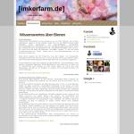Beispiel-Seite für eine Imkerfarm
