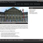 Beispiel-Seite für ein Übersetzungsbüro