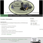 Baumaschinen und Flurförderzeuge